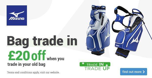 Get £20 off a new Mizuno bag